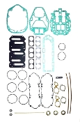 New Complete Overhaul Gasket Kit Mercury V6 135-225hp Carbureted Models with Horizontal Reeds and O-Ring Type Cylinder Heads 1999 & Up 500-220 Replaces; 27-815791A00