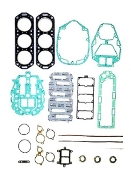 New Complete Overhaul Gasket Kit Mercury V6 2.4 Liter 175-200hp Carbureted with Horizontal Reeds and 1 Piece heads 1982 & Up 500-238 Replaces; 27-89221A88