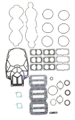 New Complete Overhaul Gasket Kit Mercury V6 3.0 Liter Carbureted & EFI Models 1995-2001 500-242 Replaces; 27-814195A93
