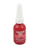 Red Threadlocker Permanent Strength Loctite 262 10 mL 013-262-01