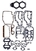 Complete Overhaul Gasket Kit for Johnson & Evinrude 55hp 2 Cylinder 1977-1978 18-4318 Replaces; 388525, 390076, 439083
