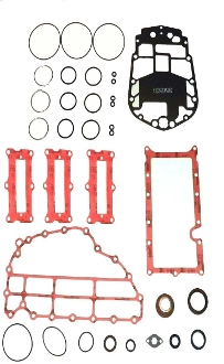 Complete Overhaul Gasket Kit for Johnson & Evinrude 75-90hp 3 Cylinder E-Tec 2004-2007 500-137-01 Replaces; 5005931