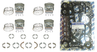 Complete Engine Rebuild Kit Kawasaki 1500 Ultra 260 X & LX 2009-2010 ERK-847-STD Replaces;13001-3739,11004-3724,92139-3702,92139-3705,92139-3711,92139-3709