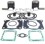 Top End Rebuild Kit Yamaha ATV YFZ350T Banshee 1987-2007 64.5mm Cylinder Bore Stroke 5mm Longer Conrod 54-520-5-645