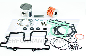 Top End Rebuild Kit Kawasaki ATV 250 Mojave 1987-2004 74mm Cylinder Bore 54-257-10P