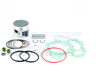 Top End Rebuild Kit Yamaha ATV 80 Grizzly, Raptor & YFM 1986-2008 47mm Cylinder Bore 54-536-10